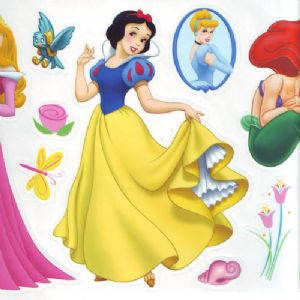 Princess stickers (JDC198)